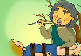 이삭을 바친 아브라함